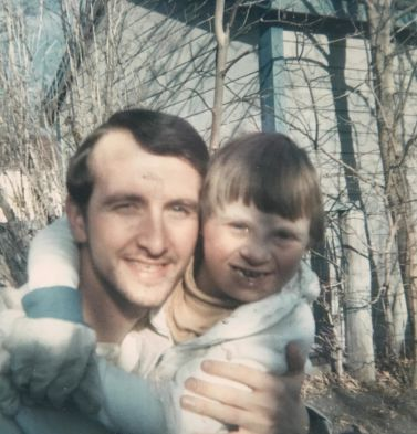 Fred Penner with his father (photo courtesy of Fred Penner)