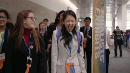 Finalists at ISEF 2017 in Los Angeles (photo courtesy of National Geographic)