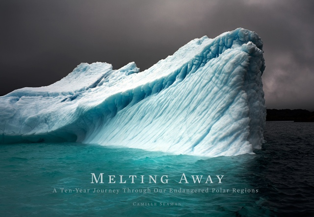 "Camille Seaman's book ""Melting Away"" (photo © Camille Seaman)"