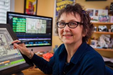 Animator and Director Alison Snowden (photo © Chad Galloway)