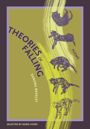 "Beasley's first book of poetry, ""Theories of Falling,"" published in 2008 (photo courtesy of Sandra Beasley)"