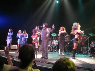 James Brown performing in June 2005 (photo by Fabio Venni, Flickr Creative Commons)