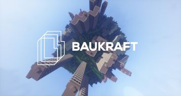 """Baukraft"": a meeting of Bauhaus and Minecraft (© Interactive Media Foundation)"