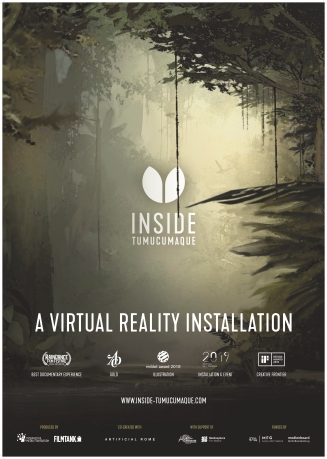 "Poster for ""Inside Tumucumaque"" (© Interactive Media Foundation)"