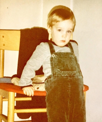 Jefta van Dinther as a young child (photo courtesy of Jefta van Dinther)