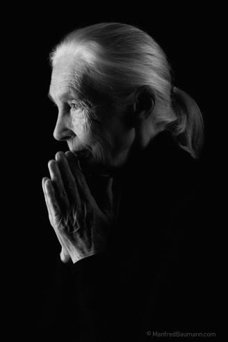 Jane Goodall (photo by Manfred Baumann)