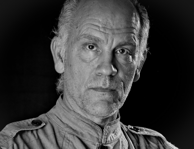 Actor John Malkovich (photo by Manfred Baumann)