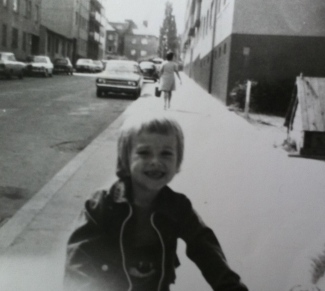 Manfred Baumann as a child (photo courtesy of Manfred Baumann)