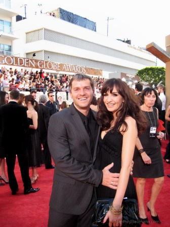 Manfred and Nelly Baumann at the Golden Globes (photo courtesy of Manfred Baumann)